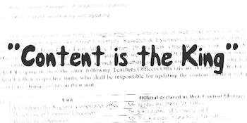 content is king scrittura contenuti efficaci per il posizionamento