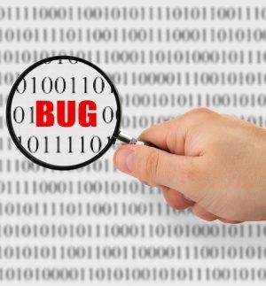 bug e posizionamento